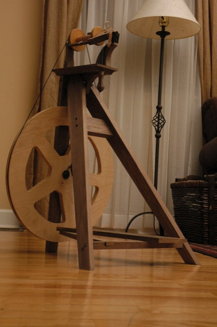 free spinning wheel instructions